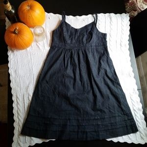 Calvin Klein Jean's chambray spaghetti strap dress